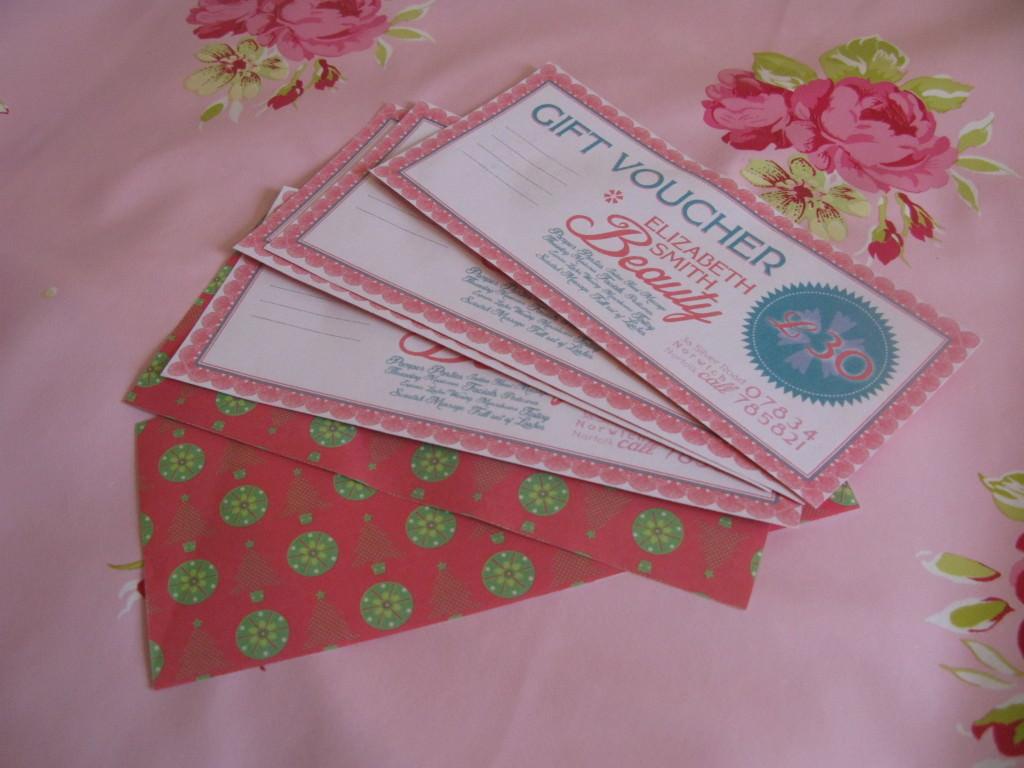 Gift voucher Norwich