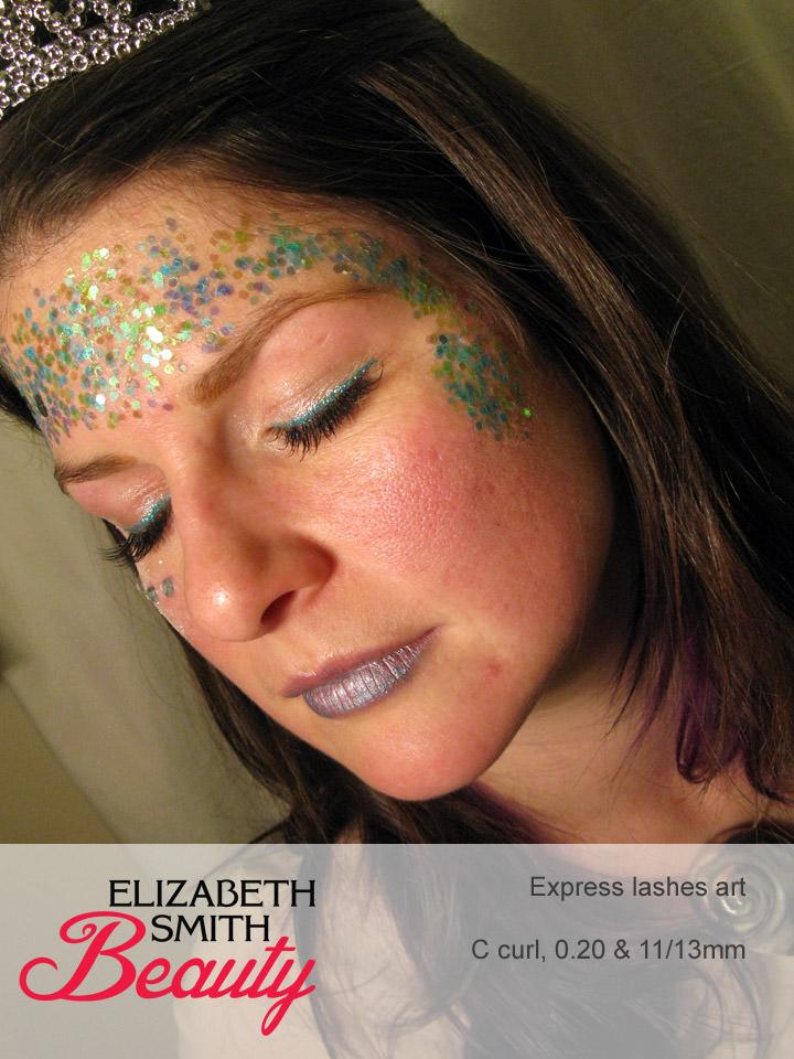 mermaid make-up