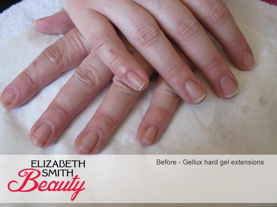 gellux hard gel nail extensions