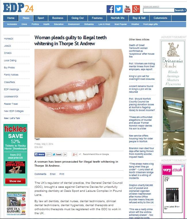 teeth whitening offers in Norwich