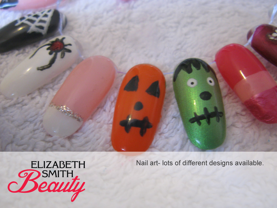 Norwich nail art halloween