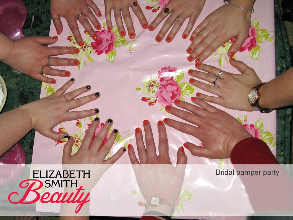 bridal pamper party