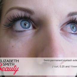 after photo of eyelash extensions
