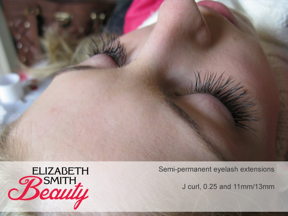 after photo eyelash extensions