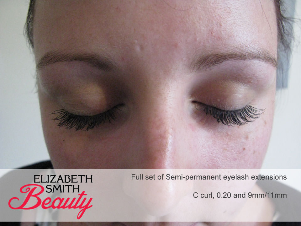 Half Set Of Semi Permanent Eyelash Extensions My Beauty Salon Website