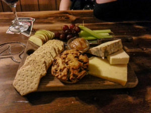 Cheeseboard at the pigs