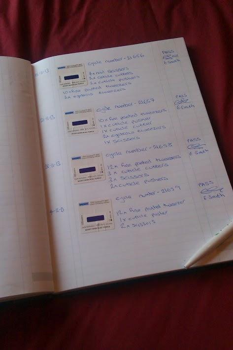 autoclave logbook