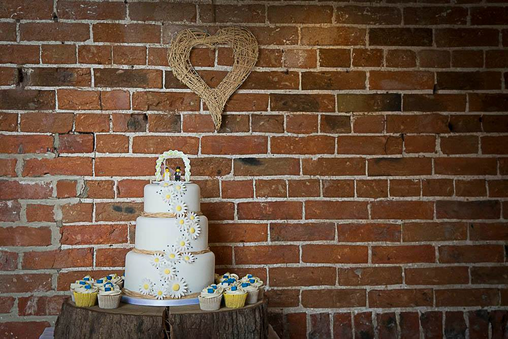 Daisy Lego Wedding Cake