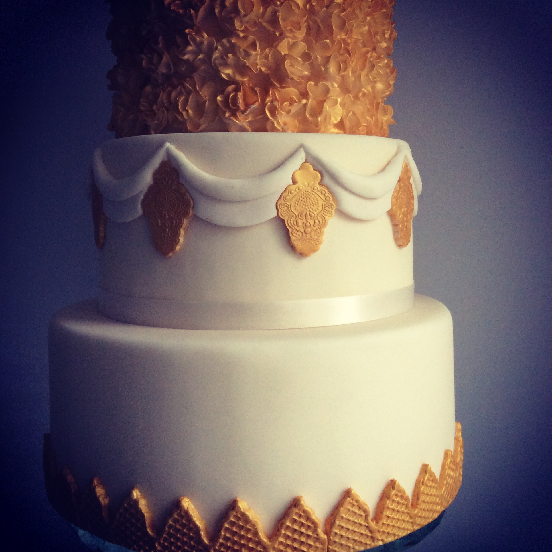 Norfolk wedding cake