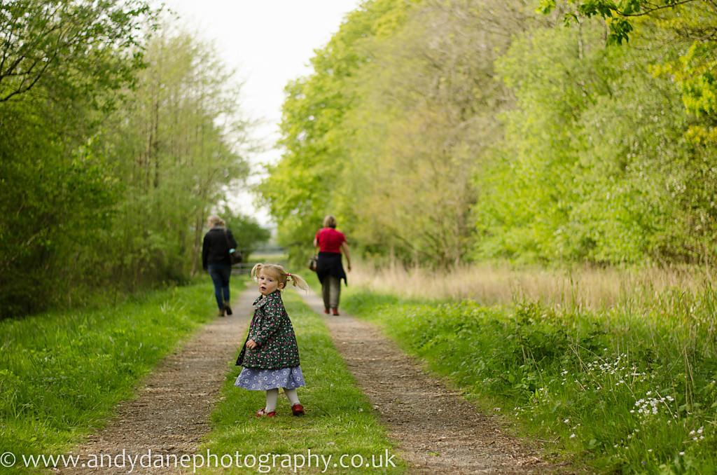Norfolk based bluebell walk