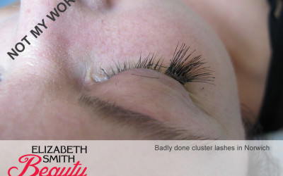 Why I am not a fan of cluster lashes