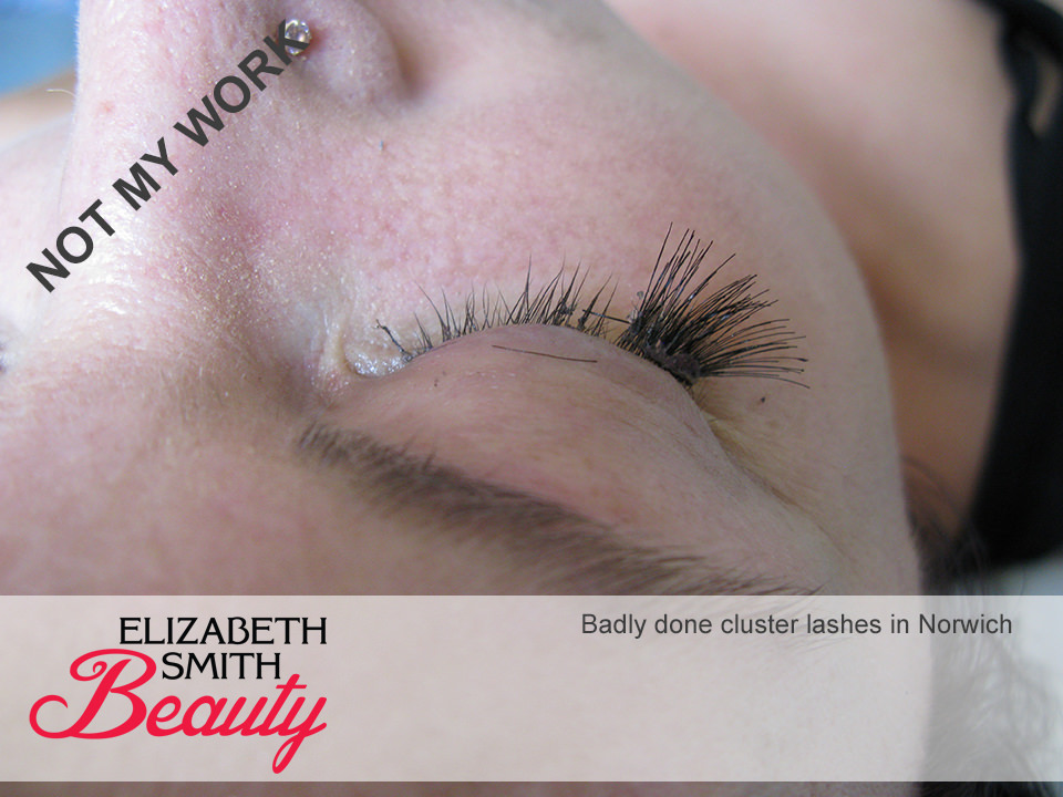 cluster lashes Norwich