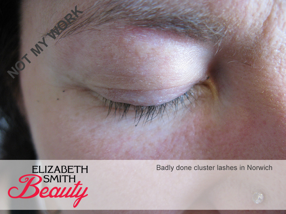 pain from eyelash extensions