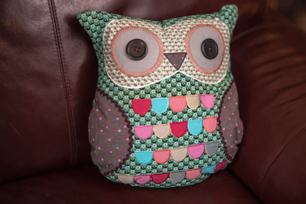 Lisa Angel Owl Cushion