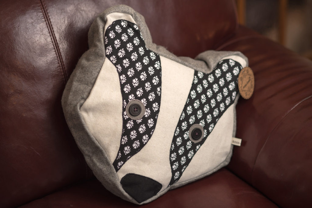 Lisa Angel Badger Cushion