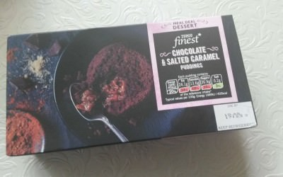 Tesco Orchard – chocolate salted caramel pudding