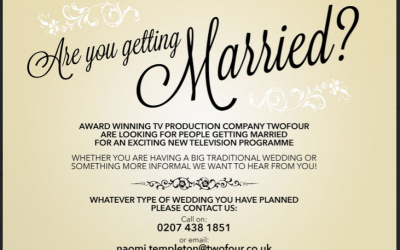 Are you getting married this year and want to be on TV?