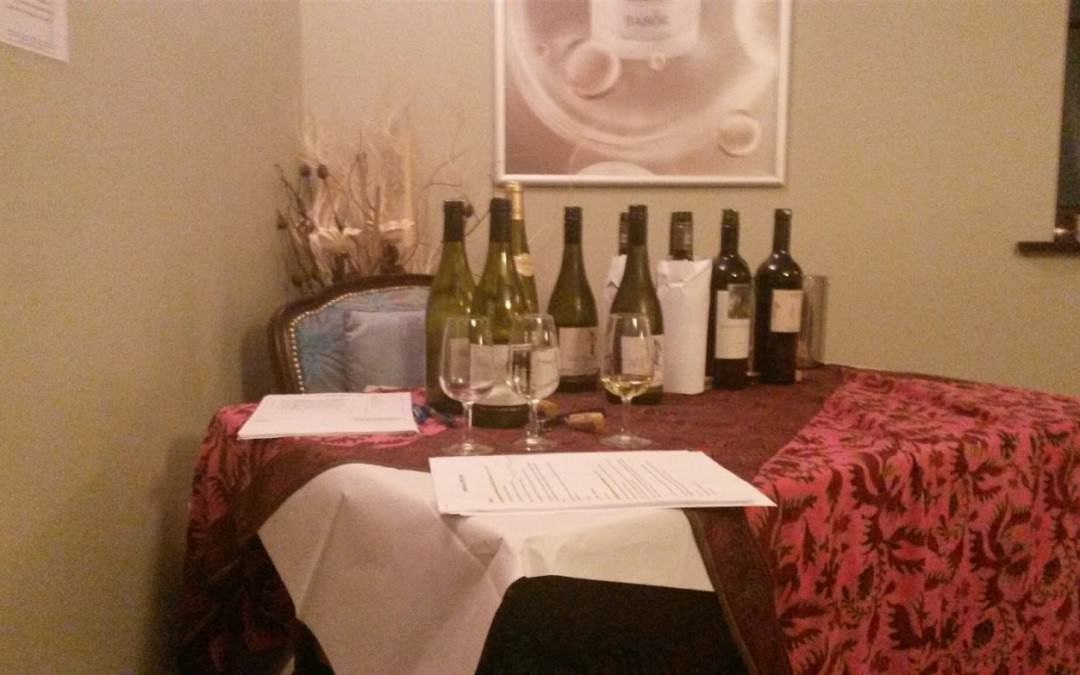 Wine tasting at Imagine Spa in Blofield