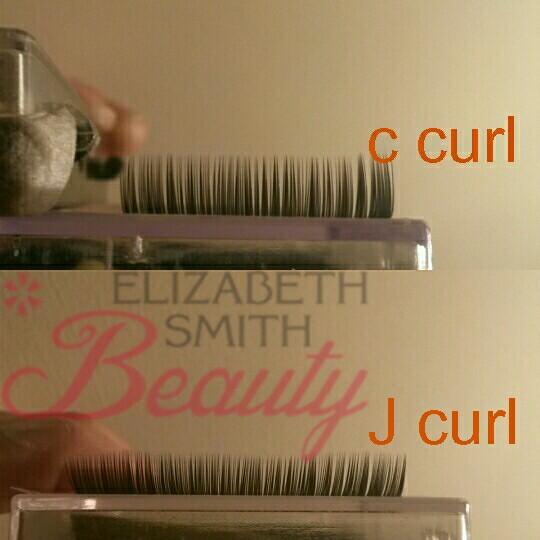 Comparing eyelash curls