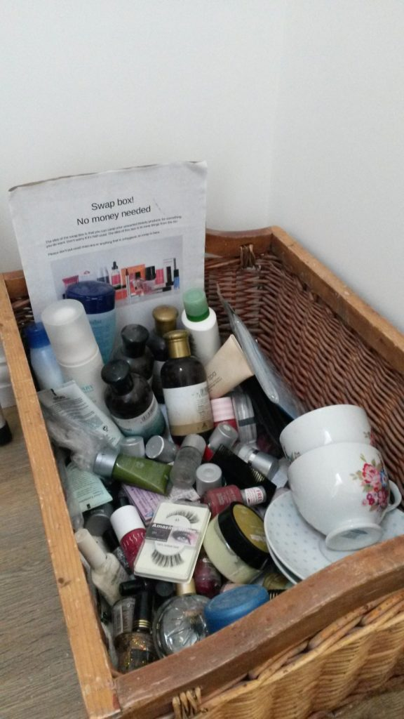 swap beauty items in Norwich