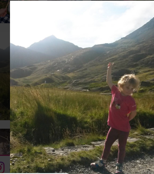 Peak of Snowdon child