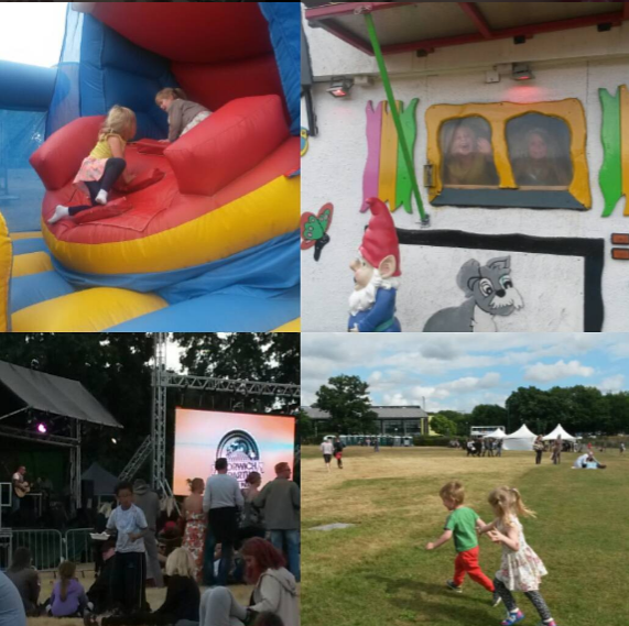 Norwich party in the park 2016