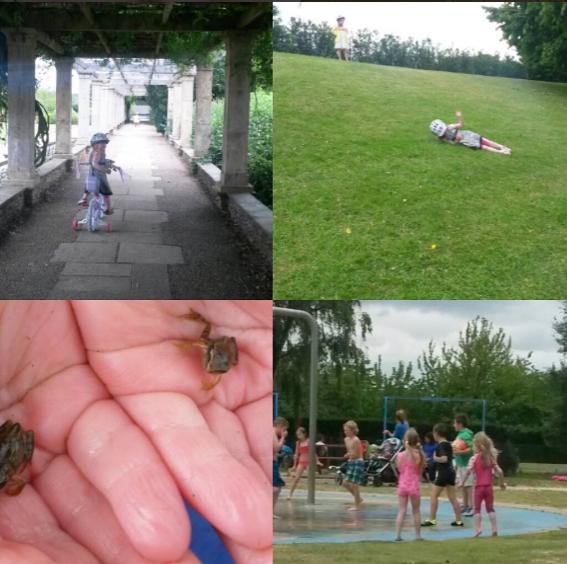 Waterloo park in Norwich