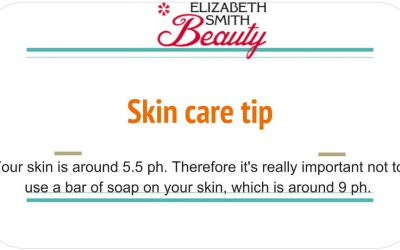Beauty tip – Stop using soap to wash your face