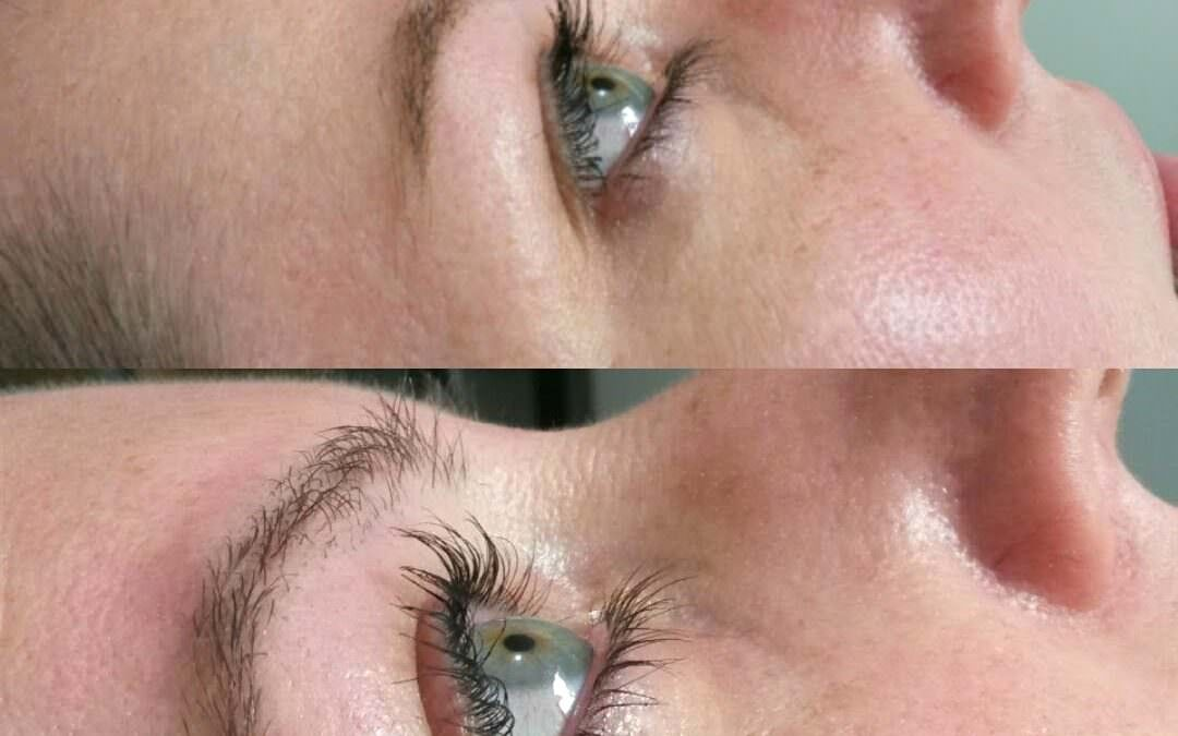 Eyelash perming and lifting