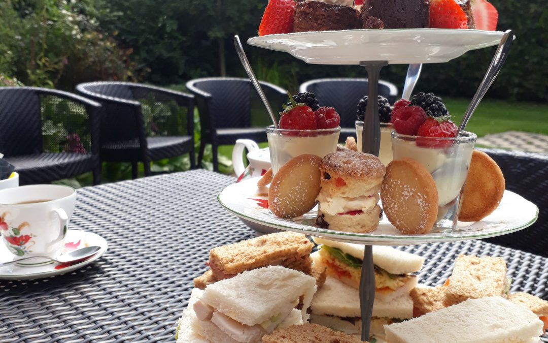 Afternoon tea at the divine Imagine Spa