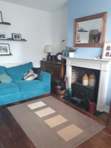 middle room in Victorian house