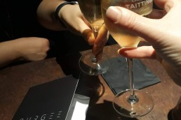 champagne at bourgee