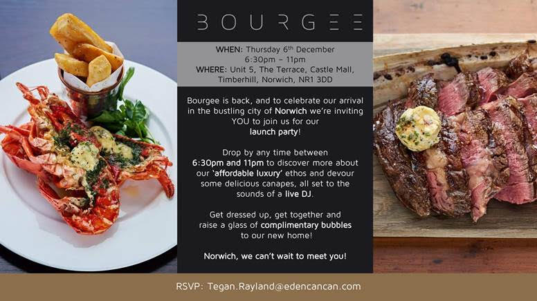 bourgee party in Norwich