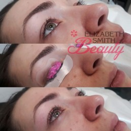 eyelash lift beauty treatment